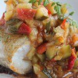 きょうの料理:落合シェフの白い野菜のカポナータ