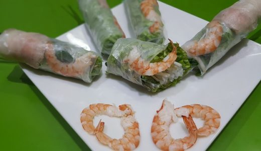 趣味どきっ!アジアごはん:ゴイ・クォン(生春巻き)レシピ