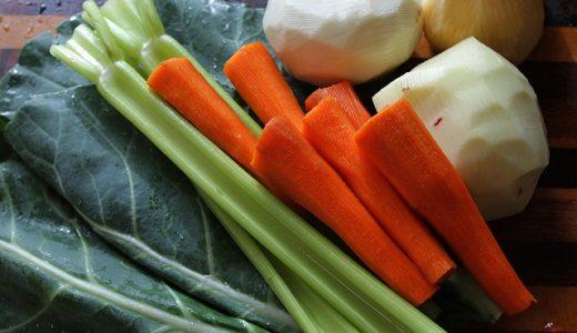 趣味どきっ!ご褒美スープ:牛すじだしとだしがらで作るお肌ぷるつや野菜の和ポトフ