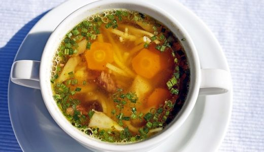 趣味どきっ!アジアごはん:アッシュ(香味野菜と豆のスープ)レシピ@イラン(ペルシャ料理)