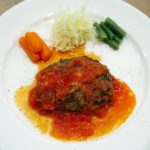得する人損する人:竹内シェフのハンバーグ正解レシピ!こねない&肉汁が切ってすぐでない