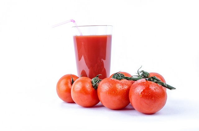 そうめん トマト ジュース