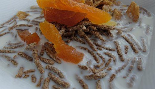 ソレダメ:ヨーグルト+ドライマンゴーで乳酸菌アップ!