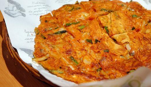 趣味どきっ!アジアごはん:キムチ・ヂョン(キムチのチヂミ)レシピ