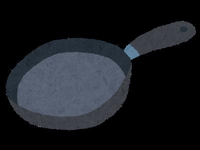 あさイチ:鉄鍋がこびりつかない炒め方&鉄鍋のお手入れ方法