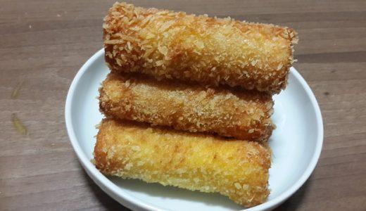 ハナタカ優越館:まるでカキフライ!を豆腐とマイタケ+のりで作る!