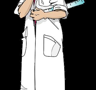 チコちゃんに叱られる!お医者さんが白衣を着ているのはなぜ?