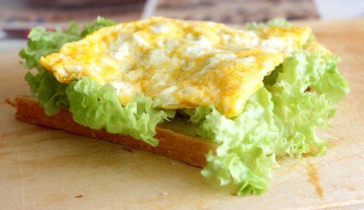 趣味どきっ!パンのある生活:コロナのたまごサンド(オムレツのたまごサンド)の作り方