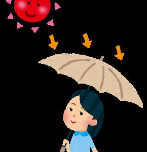 あさイチ:日傘の最新トレンド2020